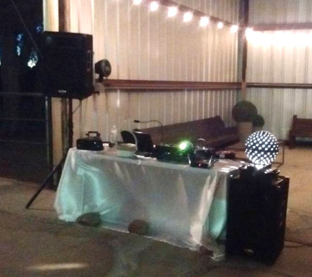 wedding party DJ